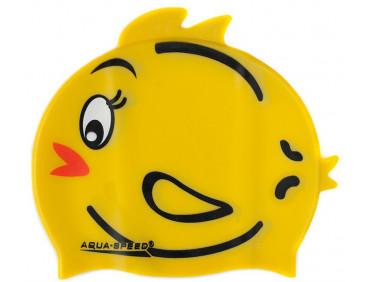 Шапочка для плавания детская Aqua-Speed Zoo Tweety Yellow One Size