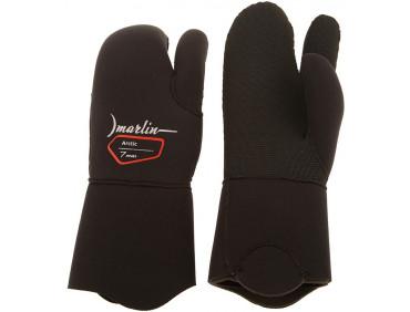 Перчатки для дайвинга Marlin Arctic трехпалые 7mm